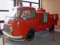 Historisches Feuerwehrfahrzeug der Werkfeuerwehr Bakelite, Linmath (Deutsches Feuerwehrmuseum Fulda).jpg