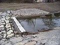 Hloubětín, Rokytka, horní jez u Hořejšího rybníka.jpg