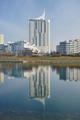 Hochhaus Neue Donau Vienna from SW on 2015-03-10.png