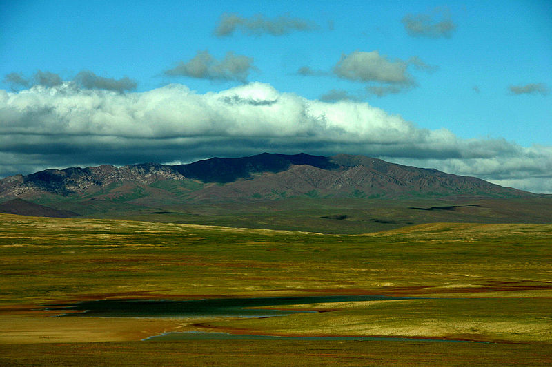 Typical Qinghai terrain