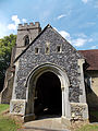 Holy Trinity Church, Takeley - south porch from south.jpg