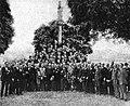 Homenaxe a José Sabucedo ao ser designado representante do conde de Bugallal na provincia de Ourense 1922.jpg