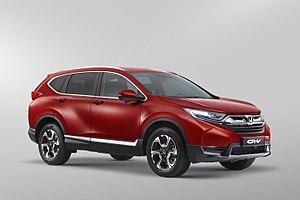 Honda CR-V - Image: Honda CR V 5Gen