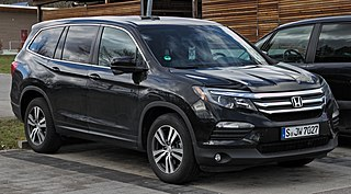 Honda Pilot Honda mid-size SUV