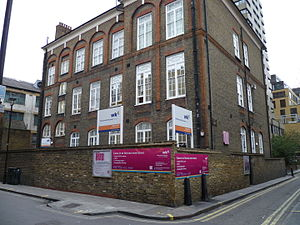 Westminster Kingsway College - The Soho centre of Westminster Kingsway College.