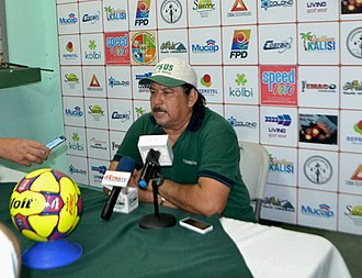 Limón F.C. - Current manager Horacio Esquivel