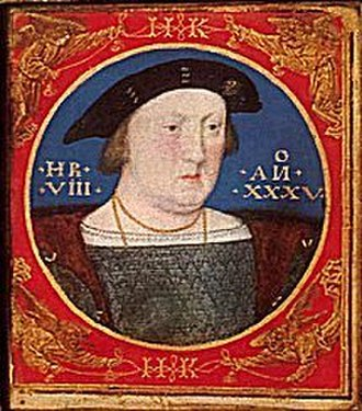 Lucas Horenbout - Image: Horenbout Henry VIII