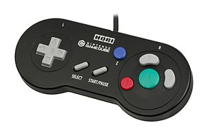 Game Boy Player - Hori manufactured a controller similar to the Super Famicom/Super NES for use with the Game Boy Player.