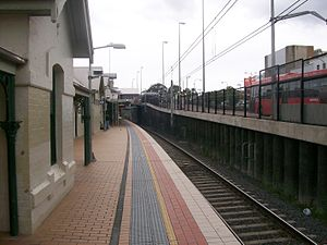 Rail Clearways Program - Hornsby additional platform completed in April 2009
