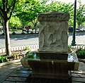 Horse trough Summit NJ with water summertime.JPG