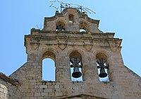 Horta de Sant Joan - Espadanya de l'església.jpg