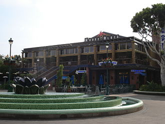 House of Blues - Former location at Downtown Disney in Anaheim, California.