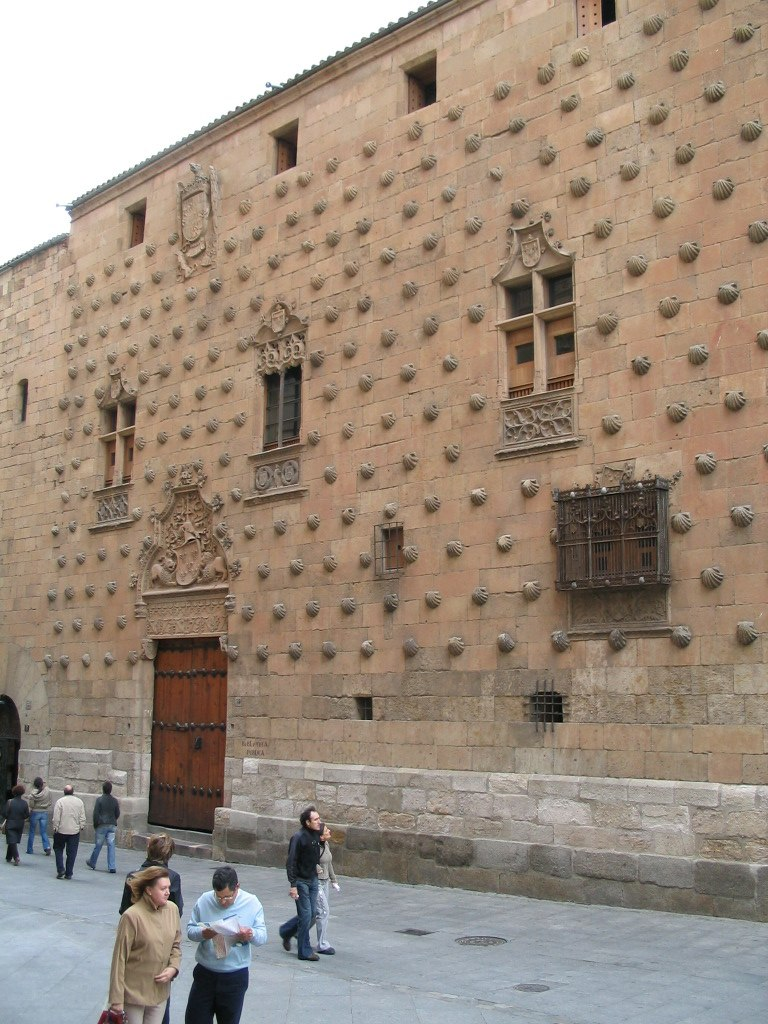 House of the shells in Salamanca