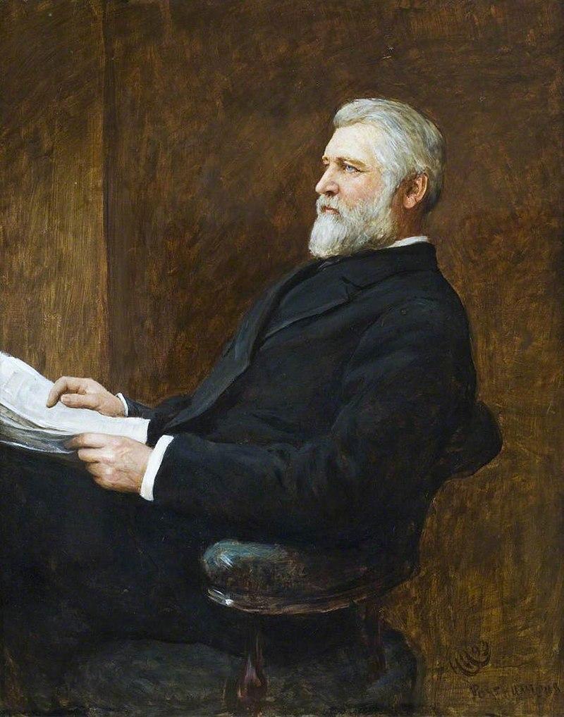 Хуберт фон Херкомер (1849-1914) - капитан Ричард Фелипс (1825-1889), член парламента - 597931 - National Trust.jpg