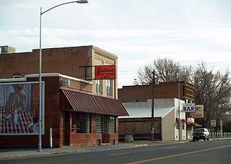 Hudson, Wyoming - Downtown Hudson