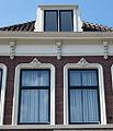 Huis. Kattensingel 4 in Gouda (3) Daklijst, raam omlijsting, dakkapel.jpg