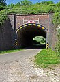Hurcott Cottage Railway Bridge - Hurcott - geograph.org.uk - 444031.jpg
