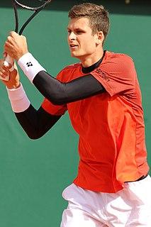 Hubert Hurkacz Polish tennis player