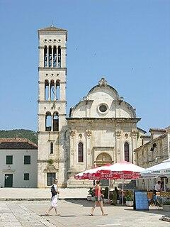 Hvar Cathedral Church in Croatia