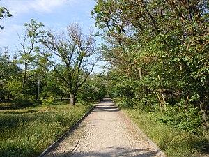 Luzanivka Hydropark - Image: Hyrdopark Luzanivka 05
