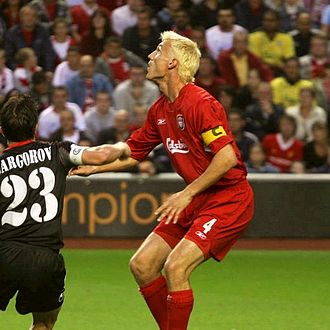 Sami Hyypiä - Hyypiä playing for Liverpool in 2006