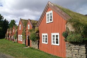 Vopnafjörður - Image: I Jsland Bustarfell