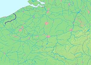 Yser - Image: I Jzer (map)