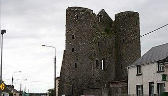 Delvin - Ruins of Delvin/Nugent Castle Main Street