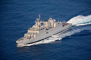 <i>Kamorta</i>-class corvette Ship class