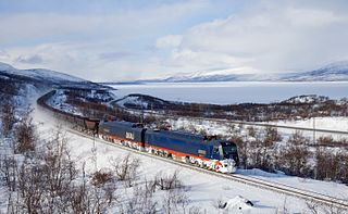 Iron Ore Line railway line in northern Sweden and Norway