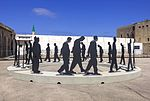 ISR-2015-Acre-Museum of the Underground Prisoners-Daily Stroll of Prisoners (sculpture) 01.jpg