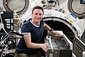 ISS-56 Serena Auñón-Chancellor works in the Kibo lab (1).jpg