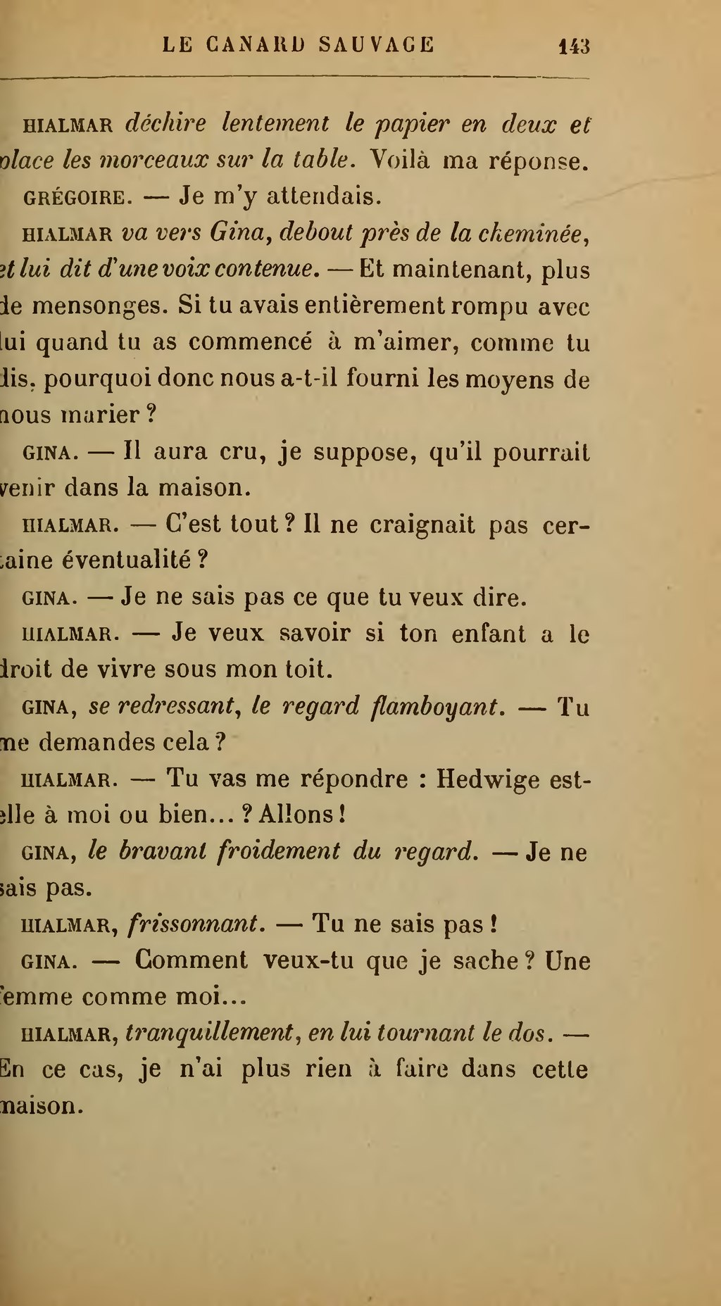 Page ibsen le canard sauvage rosmersholm trad prozor wikisource - Comment cuisiner le canard sauvage ...