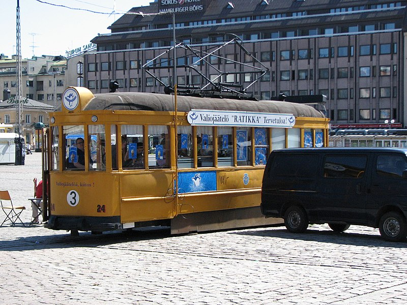 File:Ice cream tram Turku.jpg