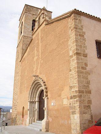 Llíria - Església de la Sang.