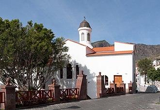 Tejeda - Image: Iglesia Nuestra Señora del Socorro Tejeda