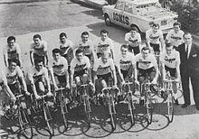 Ignis 1964.jpg equipe de ciclismo