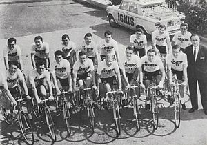 Ignis (cycling team) - The Ignis team of 1964