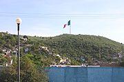 Bandera Monumental en Iguala, Guerrero.