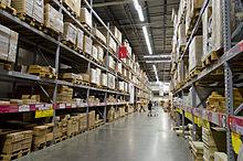 The Self Service Warehouse Area