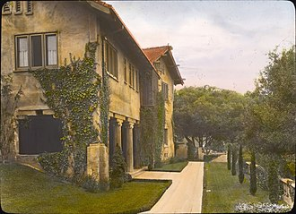 Cordelia A. Culbertson House - The house in 1917