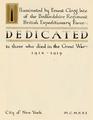 In Flanders Fields (1921) dedication.png