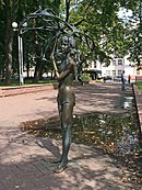 In the Michajlaŭski Garden Square Minsk.JPG