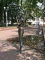 In the Michajlaŭski Garden Square Minsk.JPG