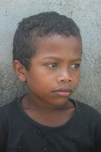 Aeta people - Young Aeta boy from Iriga City, Camarines Sur, in 2015.