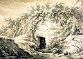 Ingang mergelgrot Sint-Pietersberg (E van Drielst, 1786).jpg