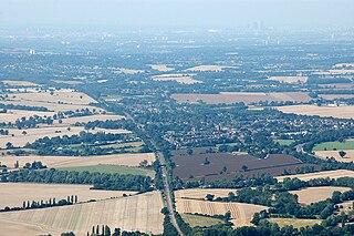 Ingatestone town in Essex, England