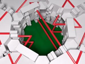 Socolar–Taylor tile - Image: Inside Socolar Taylor 3D tiling example