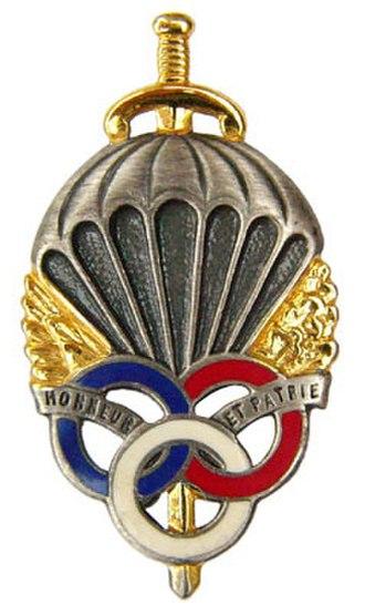 Parachutist Badge - Image: Insigne de la PM Para