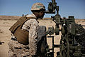 Integrated Task Force artillery Marines conduct fire-missions for MCOTEA assessment 150303-M-ED778-004.jpg